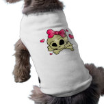 Pretty skull pet clothing