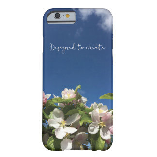 Pretty sky and blossom inspirational iphone 6 case
