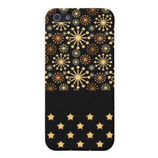 Pretty Snowflakes and Stars iPhone 5 Covers