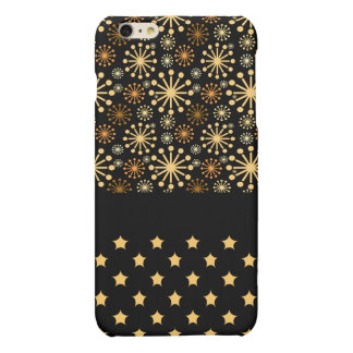 * Pretty Snowflakes and Stars iPhone 6 Plus Case