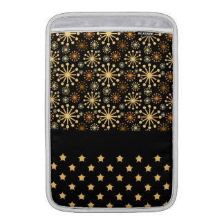 Pretty Snowflakes and Stars Sleeve For MacBook Air