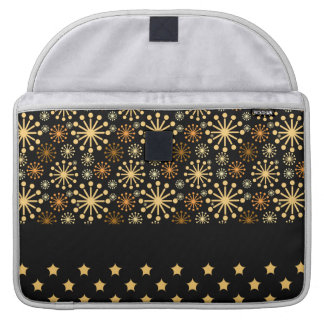 Pretty Snowflakes and Stars Sleeve For MacBook Pro