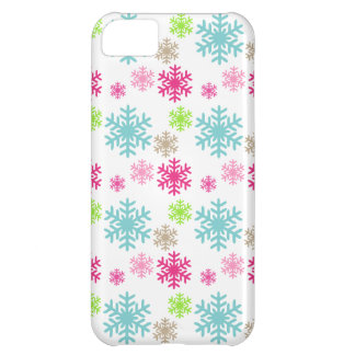 pretty snowflakes iphone case