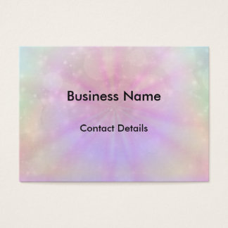 Pretty Sparkle appointment Business Card