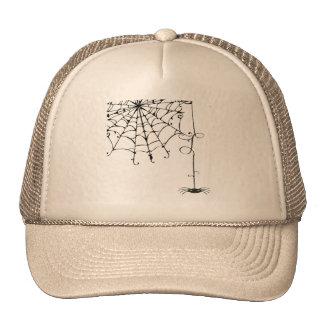 PRETTY spiderweb Mesh Hat