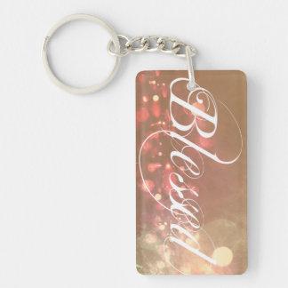 Pretty Spiritual Blessed Keychain