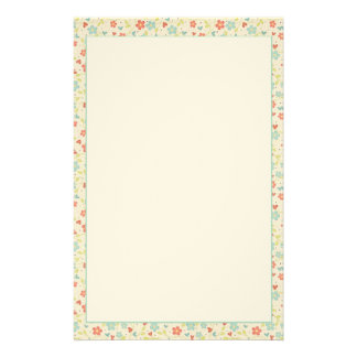 Pretty Spring Floral Stationery