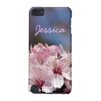 pretty spring pink cherry blossom in blue sky iPod touch (5th generation) covers