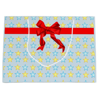 Pretty stock market large gift bag