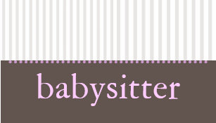 Babysitting business cards zazzle uk pretty stripes babysitting business card colourmoves