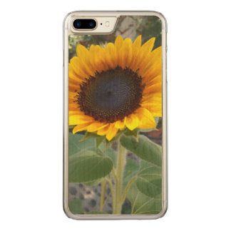 Pretty Sunflower Carved iPhone 8 Plus/7 Plus Case