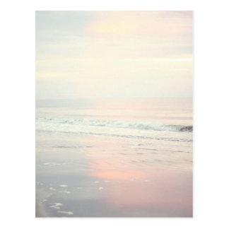 Pretty Sunrise Beach Scene Postcard