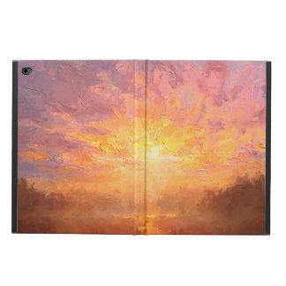 Pretty Sunset Colors Custom iPad 2 Air Case