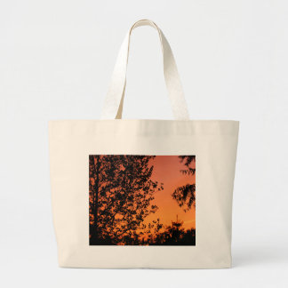 Pretty Sunset Large Tote Bag