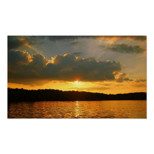Pretty Sunset Poster