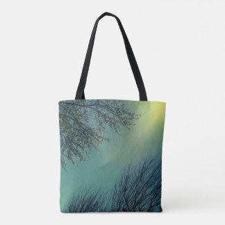 Pretty Sunshine Centered on Winter to Spring Tote Bag