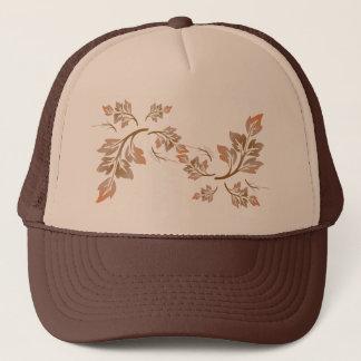 Pretty Swirling Autumn Leaves Trucker Hat