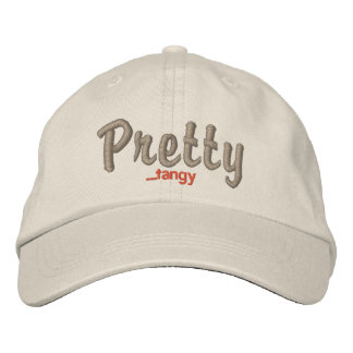 Pretty...tangy Embroidered Cap