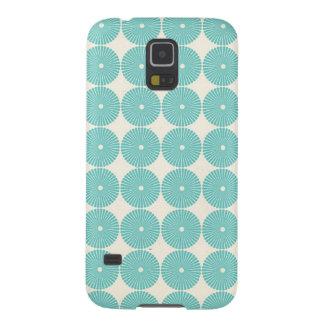Pretty Teal Aqua Turquoise Blue Circles Disks Samsung Galaxy Nexus Cases