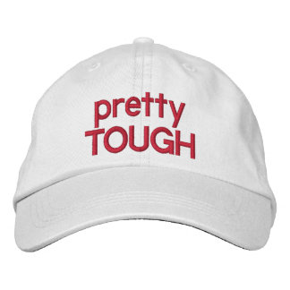 Pretty Tough Adjustable Hat Embroidered Baseball Cap