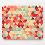 Pretty Triangle pattern II + your ideas Mouse Pad