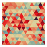 Pretty Triangle pattern II + your ideas Poster