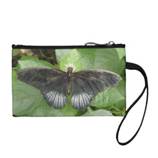 Pretty Tropical Butterfly and Flowers Bagettes Bag