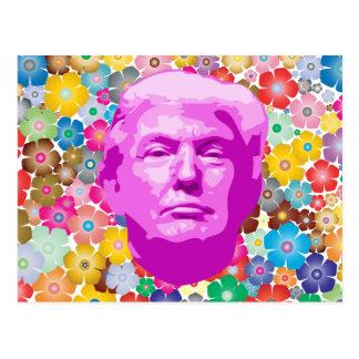 Pretty Trump Postcard