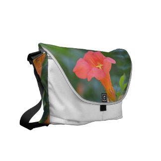 Pretty Trumpet Vine Courier Bag