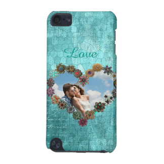 Pretty Turquoise Personalized Picture Phone iPod Touch (5th Generation) Case