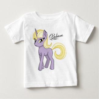 Pretty Unicorn Believe Baby T-Shirt