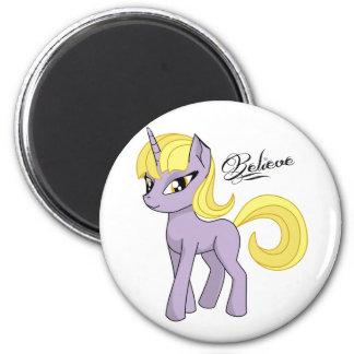 Pretty Unicorn Believe Magnet