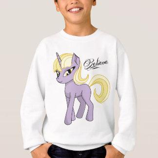 Pretty Unicorn Believe Sweatshirt