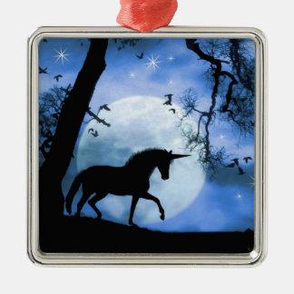 Pretty Unicorn Christmas Ornament