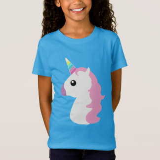Pretty Unicorn Emoji T-Shirt