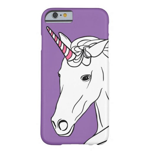 Pretty Unicorn Purple Phone Case