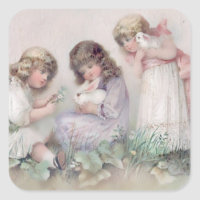 Vintage easter girl gifts on zazzle uk craft supplies negle Choice Image