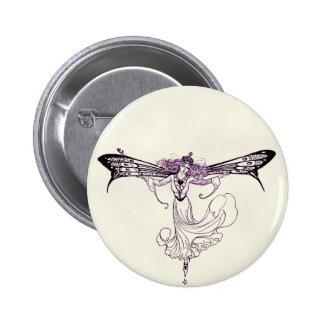 Pretty Vintage Fairy Decal Pins
