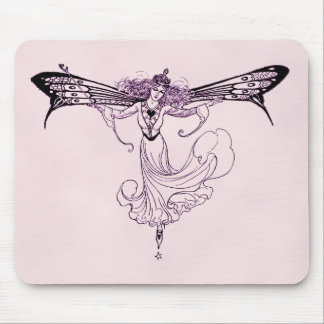 Pretty Vintage Fairy Decal Mousepads
