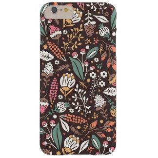 Pretty Vintage Floral Pattern iPhone 6 Plus Case