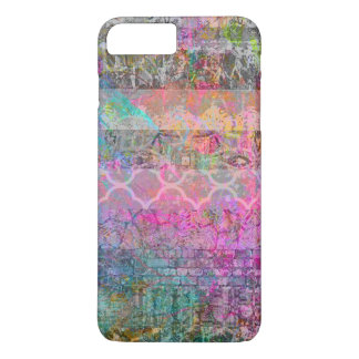 Pretty Watercolor Bohemian Abstract Grunge Striped iPhone 8 Plus/7 Plus Case