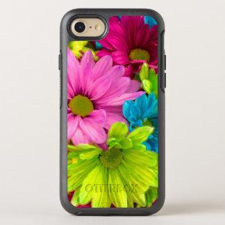 Pretty Watercolor Flowers Bouquet OtterBox Symmetry iPhone 8/7 Case