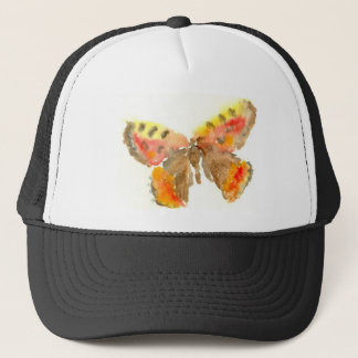 Pretty Watercolour Butterfly Hat