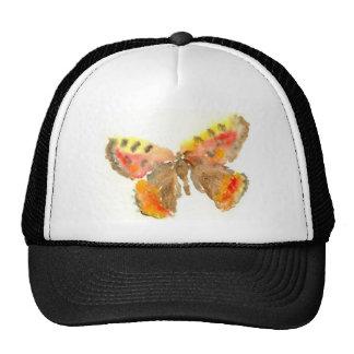 Pretty Watercolour Butterfly Hat