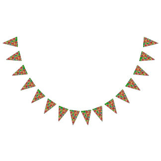Pretty Watercolour Floral Party Bunting Bunting