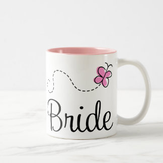 Pretty Wedding Bride Mug