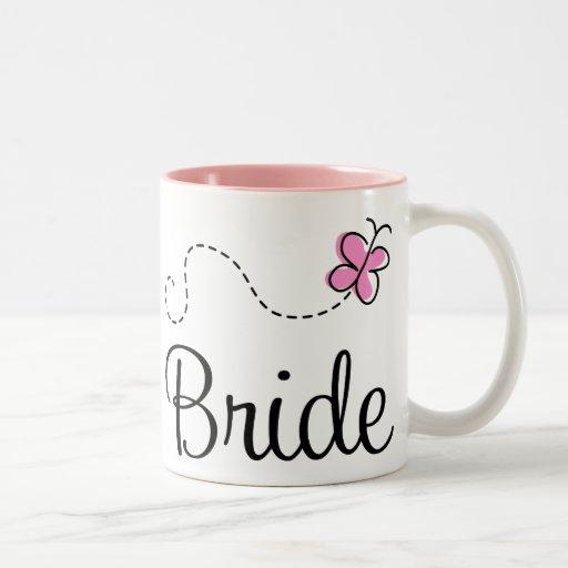 Pretty Wedding Bride Mug