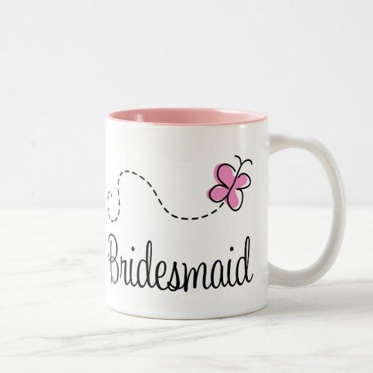 Pretty Wedding Bridesmaid Mug