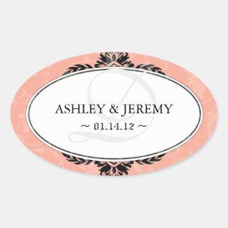 Pretty Wedding Favor Stickers