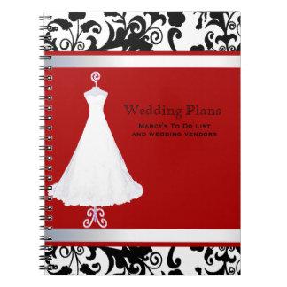 Pretty Wedding Planner Notebook